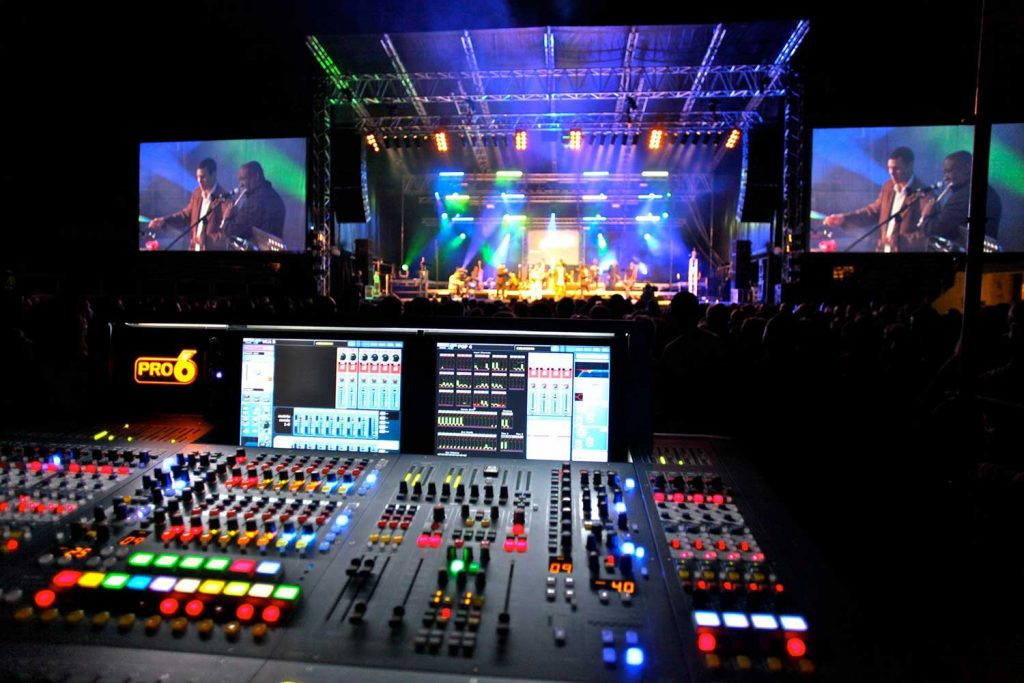 soundboard for performing artists